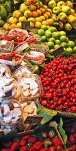 Mercatino dei prodotti biologici e tradizionali del Parco della Val d'Orcia