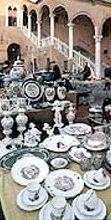Mercatino di cose d'altri tempi e dell'artigianato