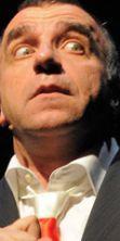 Ugo Dighero in 'Mistero Buffo' di Dario Fo