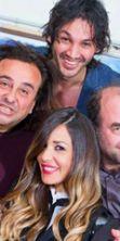 Alessia Fabiani a teatro in 'Tre papà per un bebè'