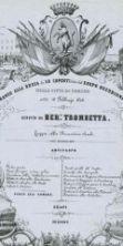 Liste di pranzi e ricettari all'Archivio Storico