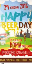 Happy Beer Day a Capannelle, birra e street food