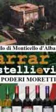 Visita narrata al Castello e degustazione vini Poderi Moretti