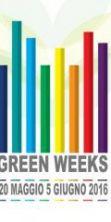 Green Weeks, 15 giorni di appuntamenti ed eventi