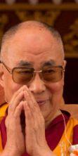 Sua Santità il XIV Dalai Lama arriva a Milano