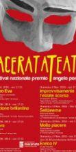 Macerata Teatro - 48° Festival nazionale premio Angelo Perugini