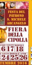 Fiera della cipolla e festa del Patrono S.Michele Arcangelo