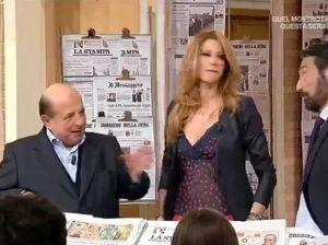 """""""Sei una rompi…."""": Magalli e la lite in diretta tv con Adriana Volpe"""