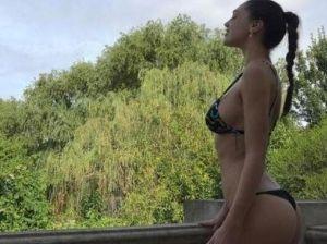 Cecilia Rodriguez, vacanza argentina con foto social in bikini