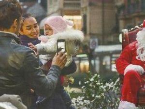 Silvia Toffanin e Pier Silvio Berlusconi, vacanze di Natale con i figli