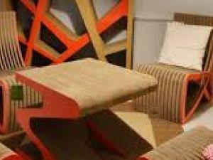 I mobili in cartone riciclato. Novità ecologica