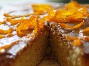 Delicata e gustosissima... La Torta all'arancio