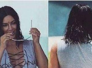 Kim Kardashian osa il primo bikini, ma senza Photoshop il lato B delude