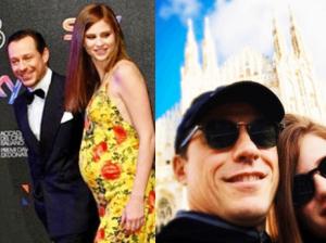 Stefano Accorsi di nuovo papà: ecco Bianca Vitali incinta col pancino
