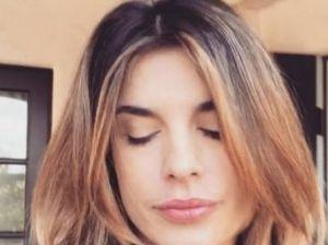 Il lutto di Elisabetta Canalis e il tenero saluto sui social