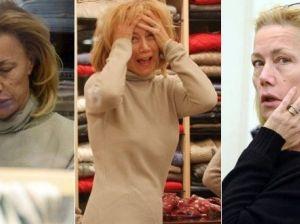 """""""Sei di plastica"""" e Nancy Brilli reagisce e racconta i suoi interventi"""