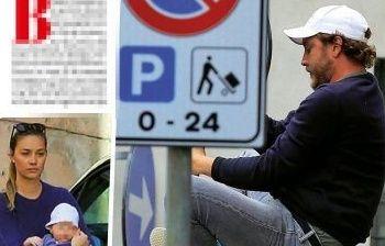 Pierre Casiraghi acrobata per amore a Milano