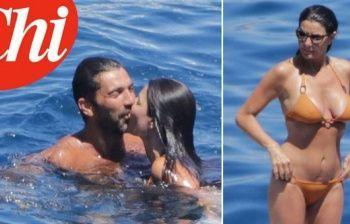 Ilaria D'Amico e Gigi Buffon, luna di miele all'Isola del Giglio