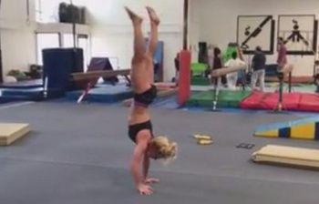 Britney Spears si allena.. per le Olimpiadi