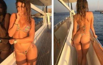 Carlotta Tadolini, vacanze sexy per la modella italo-russa: la foto fa il pieno di like