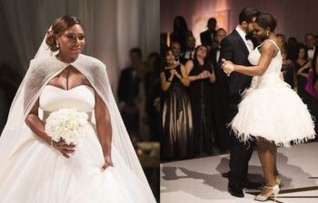 Serena Williams si è sposata: matrimonio stellare!