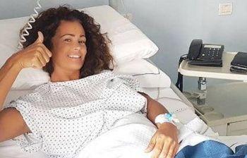 Samantha de Grenet operata, è in ospedale