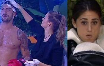 GFVip: Cecilia Rodriguez, scenata di gelosia per la doccia di Ignazio con Ivana