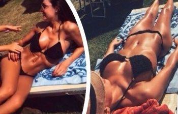 Anna Tatangelo in bikini super sexy conquista 26 mila like