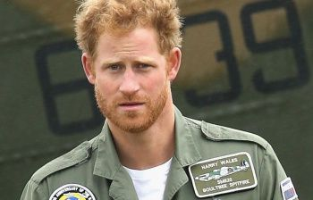 Principe Harry choc: