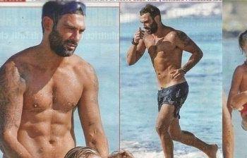 Francesco Arca al mare sexy più che mai!