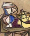 Ennio Morlotti, in mostra un'ampia selezione di dipinti e di pastelli