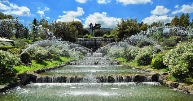 Cascate Da Giardino Moderne : Dopo anni roma riavrà le sue cascate dell eur initalia