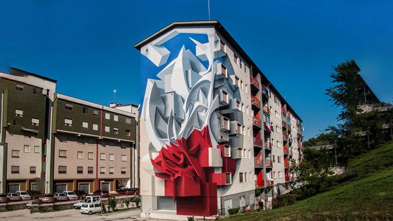 I Piu Bei Murales.I Murales Di Campobasso Racchiudono Il Cielo In Un Stanza Anzi In