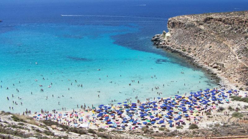 Beach Awards 2018 La Spiaggia Piu Bella D Italia E A Lampedusa