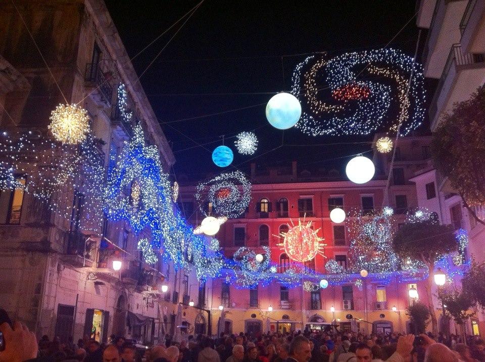 Tornano a Salerno le Luci d'Artista