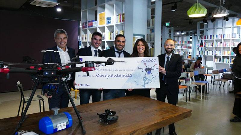 Realizzato a Pisa il prototipo di un drone salva vita