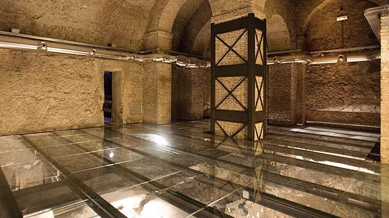 Ecco le domus romane nel palazzo Valentini