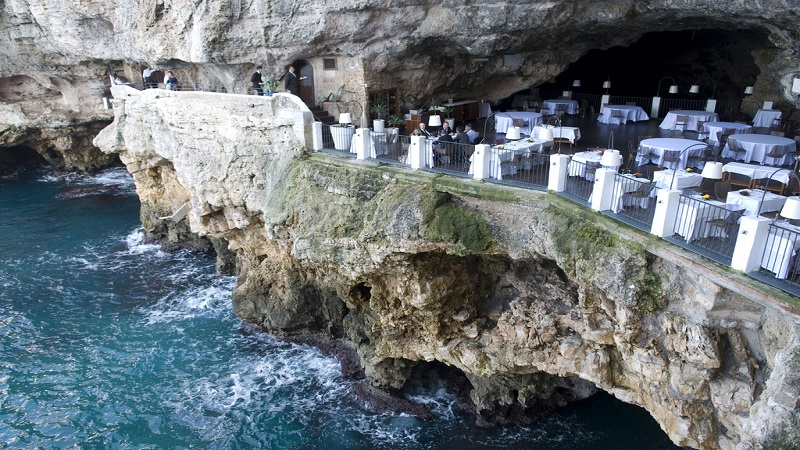 Ecco uno dei ristoranti più spettacolari d'Italia