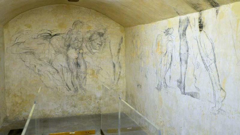 La stanza segreta di Michelangelo apre al pubblico nel 2020
