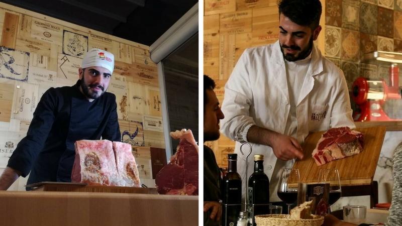Il sommelier della carne, a Firenze, esiste per davvero