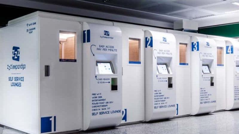 Ostelzzz: le microcamere degli aeroporti si fanno ostello