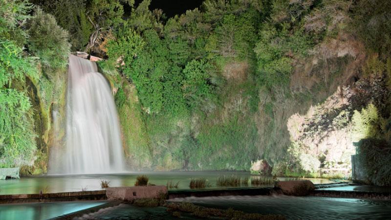 Le cascate di Isola del Liri sono un incanto