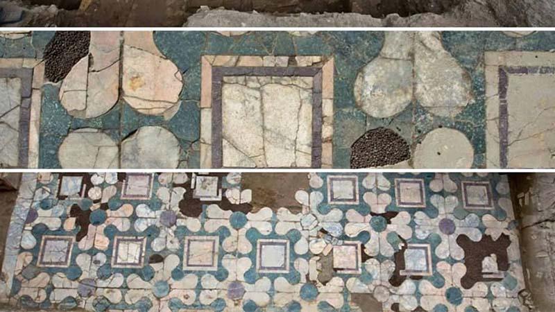 Marmi e tombe emergono dagli ultimi enigmatici scavi di Roma