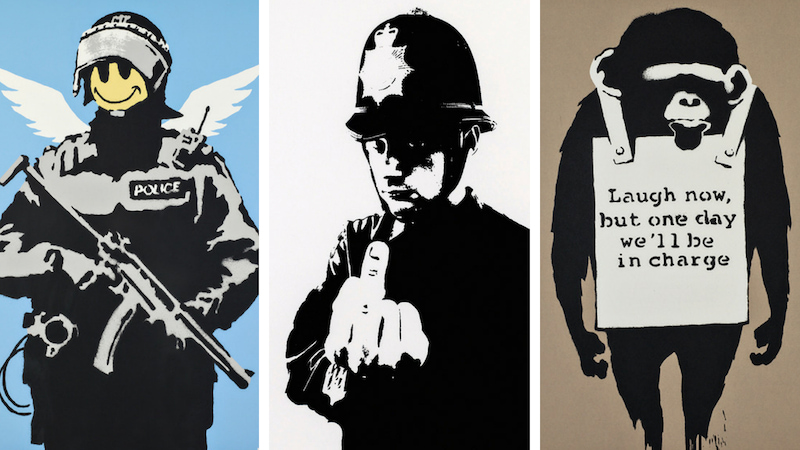 Banksy a Milano tra murales e provocazioni