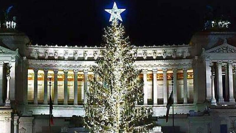 L'albero di Natale a Roma è targato Netflix