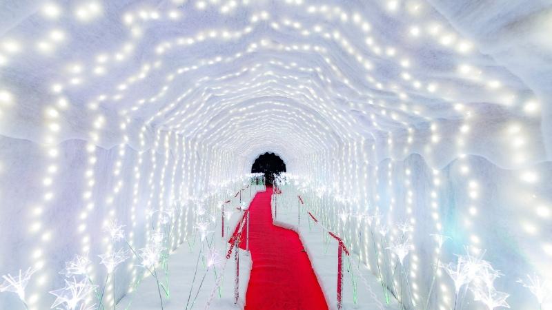 A Leggiuno il Natale è illuminato da oltre 500 mila lucine
