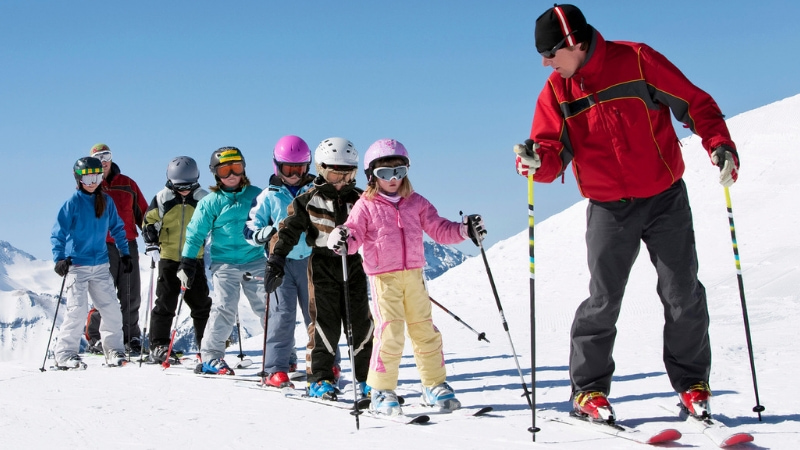 Lezioni di sci gratis in Trentino con il