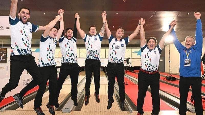 Bowling: l'Italia è campione del mondo