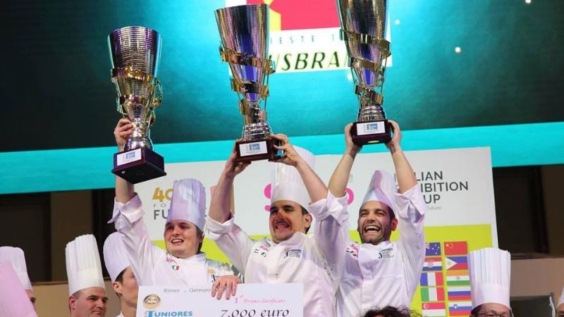 Campionato Mondiale Juniores della pasticceria: Italia d'oro
