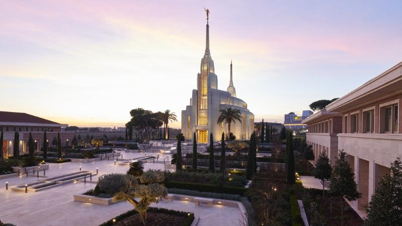 Inaugurato il Tempio dei Mormoni a Roma